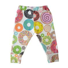 Donut baby leggings, yes please! We are gaga over these lightweight, breathable and versatile baby leggings. #PNshop