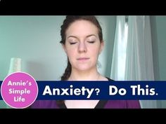 Anxiety? Insomnia? Panic Attacks? Do this. - YouTube