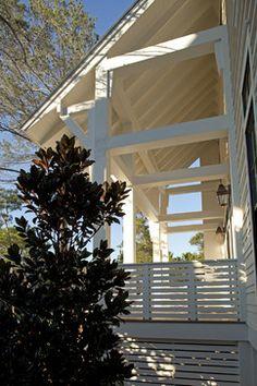Horizontal Porch railing idea