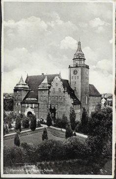 ELBING / Ostpreußen, HEINRICH-VON-PLAUEN-SCHULE