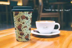 Red Panda Travel Mug, 15oz by nemki on Etsy https://www.etsy.com/listing/506522858/red-panda-travel-mug-15oz