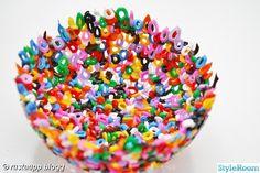 Pyssel med pärlor - Inspiration och idéer till ditt hem
