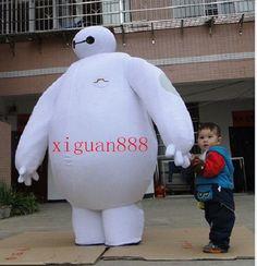 Big Hero 6 Mascot Costume Baymax Mascot Costume Baymax Cosplay Free Shipping】【】 #Dress