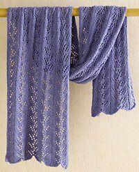 Lace Shawl - Media - Knitting Daily - free pattern