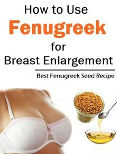 How to use fenugreek for breast enlargement? Aside from the many health benefits that you can get from taking in fenugreek, it contains a great amount of phyto-estrogens, which are the compounds similar to estrogens. Fenugreek Tea, Fenugreek Benefits, Breast Growth Tips, Health And Beauty Tips, Health Facts, Skin Treatments, Herbalism, Exercises, Stretches