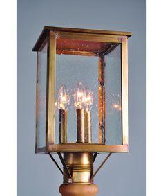 Northeast Lantern 8983-LT3 Ashford 3 Light Outdoor Post Lamp