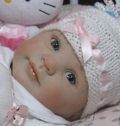 "Reborn OOAK Baby Girl Doll ""Holly"" by Donna Rubert now ~Bree~"