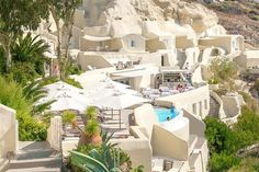 Book your escape at Mystique, a Luxury Collection Hotel, Santorini. Our exclusive Santorini hotel offers luxury accommodations & unmatched experiences. Best Hotels In Santorini, Santorini Greece, Luxury Apartments, Luxury Homes, Santorini Island, Glass Cabin, Luxury Collection Hotels, Mystique, Viajes