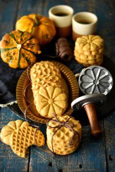 Bolachas de Abóbora e Manteiga de Amendoim - http://gostinhos.com/bolachas-de-abobora-e-manteiga-de-amendoim/