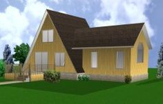 A Frame Cabin Plans   All Products : Projects and Plans, Project Plans 2000