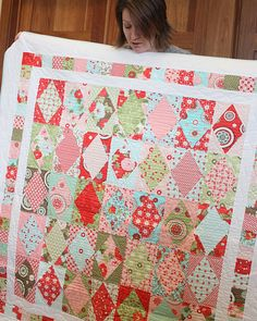 Best Friends out of Bliss #quilt by Emily Herrick