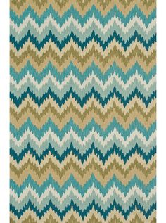 This Summerton Aqua Green Collection rug (SRS01) is manufactured by Loloi. The beautiful Summerton Collection offers style and design in a hand-made 100% polyester construction. Shop for more rugs from RugsHQ.com