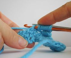 Bullion Stitch: Wrap the yarn 7 times around both the needle and the hook from back to front.    Move the knitting needle down a bit,holding the loops in place with your finger.    Take the crochet hook and insert into the next stitch, still keeping the loops intact around the hook and needle.    Pull through a loop.