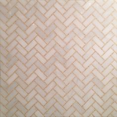Herringbone Micro Mosaic - Ready-to-Ship Mosaics - Mosaics/Waterjet - Surfaces - Studium NYC