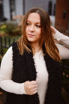 Faux Fur Furever   Ombre, Lived in hair, style blogger, chic, street style