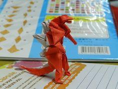 ▶ Godzilla origami tutorial 哥斯拉摺紙教學 - YouTube