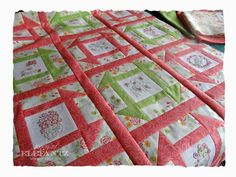 TUTORIAL - simple hand quilting...
