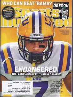 Tyrann Mathieu LSU Sports Illustrated