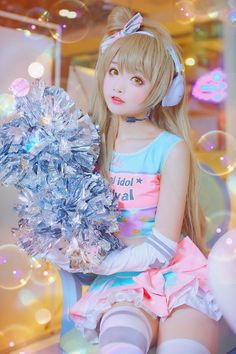 Kotori Minami Cosplay Boy, Cute Cosplay, Amazing Cosplay, Cosplay Outfits, Halloween Cosplay, Anime Cosplay, Cosplay Costumes, Cute Kawaii Girl, Anime Girl Cute
