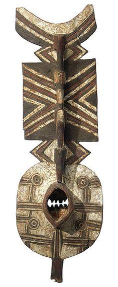 Bwa Plank Mask, Burkina Faso