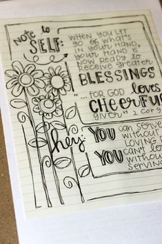 Journaling Outside the Margins- adding journal pages to your Bible II Cor God loves a cheerful giver Bible Study Journal, Scripture Study, Journal Pages, Art Journaling, Scripture Journal, Journal Prompts, My Bible, Bible Art, Bible Doodling