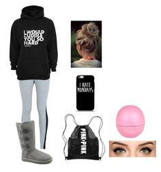 Untitled #40 by cannonsamiya on Polyvore featuring polyvore, fashion, style, NIKE, UGG Australia, River Island, women's clothing, women's fashion, women, female, woman, misses and juniors