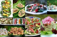 Delicious and refreshing garden salad recipe made with lettuce, tomato, onion and avocado with a lime cilantro dressing Arugula Salad Recipes, Shrimp Salad Recipes, Summer Salad Recipes, Summer Salads, Seafood Salad, Seafood Recipes, American Potato Salad, Classic Potato Salad, Salmon With Avocado Salsa