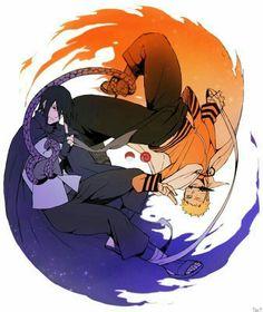 Team 7 - Uchiha Sasuke X Uzumaki Naruto Naruto Vs Sasuke, Anime Naruto, Naruto Shippuden Anime, Naruto Art, Hinata, Naruto Gaiden, Sasuke Sakura, Sasunaru, Boruto