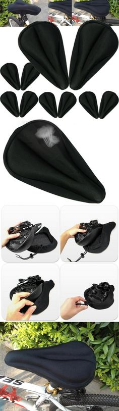 Saddle Covers Seat Covers 177838: 10X Extra Comfort Gel Pad Cushion Cover For Saddle Seat Comfy Bike Bicycle Cycle BUY IT NOW ONLY: $55.0