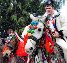 Maramures winter traditions - just beautiful!