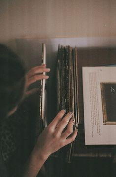 Take those old records off the shelf; I sit and listen to them by myself