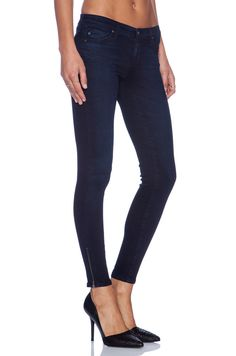 Adriano Goldschmied The Zip Up Legging Ankle Skinny Jean Black Size Great overall condition, some wash wear. Ag Jeans, Skinny Jeans, Adriano Goldschmied Jeans, Zip Ups, Overalls, Black Jeans, Leggings, Ankle, Denim