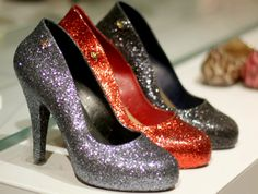 Vivienne Westwood Melissa Anglomania Glitter Heels Shoes Christmas at Selfridges Bullring Birmingham