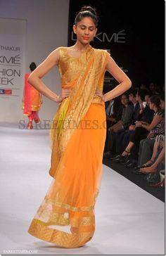 LFW Winter/Festive 2012 Amrita Thakur | sareetimes