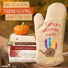 A one-of-a-kind Thanksgiving craft for kids!