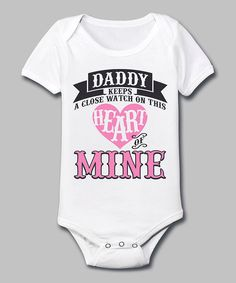 Cute baby girl onesie.