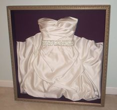 Frame your wedding dress