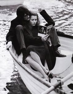 A LIFE IN THE THEATRE: Kate Moss by Bruce Weber for Vogue Italia October 1996