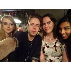 Selfie with some amazing bloggers I love them!! @elomallow @roisinf_x @thesocialgeek_x #bbloggers #scotblogmeet #scottishbloggers