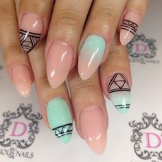 Subtle ombre from @dliciousnails| Enter or vote in the Hard Candy Spring Nail Art Contest!