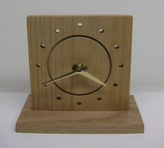 Wood Clock by FuturaClocks on Etsy