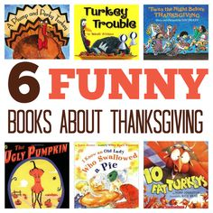 Get your kids gobbling and giggling with these funny Thanksgiving books.