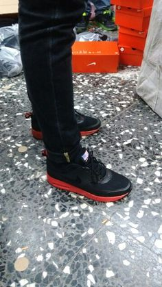 Nike Airmax Thea Men Shoes Black And Red #Nike #Airmax #men #shoes #luxury #style