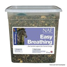 Natural Animal Feeds Easy Breathing A comprehensive blend of herbs specifically chosen for their beneficial effects on the lung tissue integrity.