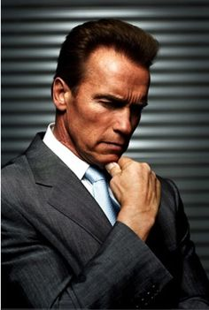 Arnold Schwarzenegger is one of my role models. ~~ Loved him in Kindergarten Cop and True Lies.