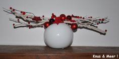 Christmas vase / Kerst vaas
