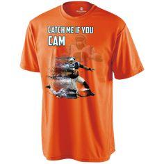 Cam Newton Panthers Custom Designed Fan Holloway Zoom Shirt