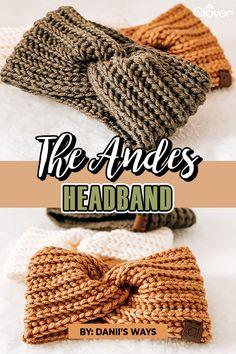 Crochet Ear Warmer Pattern, Knitted Headband Free Pattern, Crochet Leg Warmers, Easy Crochet Hat Patterns, Crochet Shawl Free, Diy Crochet Headband, Crochet Gifts, Crocheted Headbands, Flower Headbands