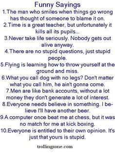 #3 n da last 1 make me laugh da most, lol