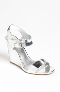tildon lindy wedge available at nordstrom the perfect shoe for black and white silver wedgesmetallic wedgessilver shoeswedding